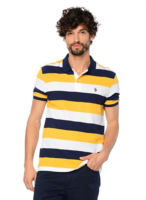 U.S.Polo Assn. Polo Yaka Tişört Sarı